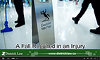 Slipped and Fell Injury Video