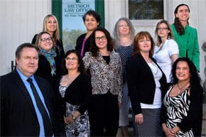 George Dietrich with the Kitchener Personal Injury Defence Team